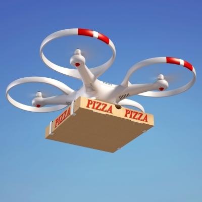 pizza delivery drone