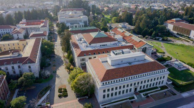 University of California Berkeley Campus Buildings