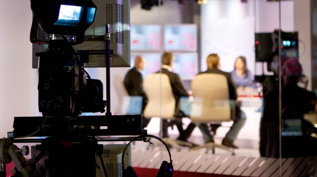TV studio, Broadcasting