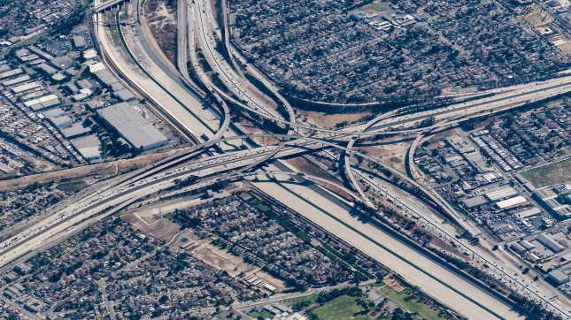 Interchange, Compton, California