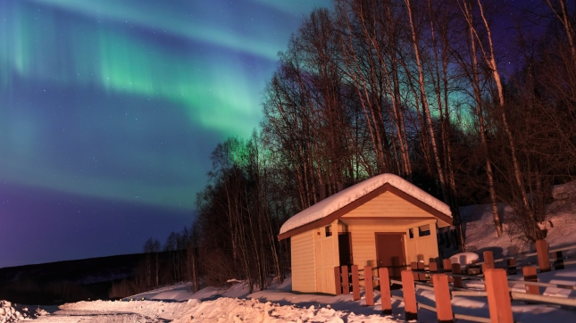 Fairbanks, Alaska northern lights