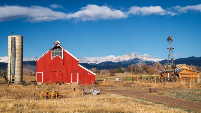 Longmont Barn, Colorado