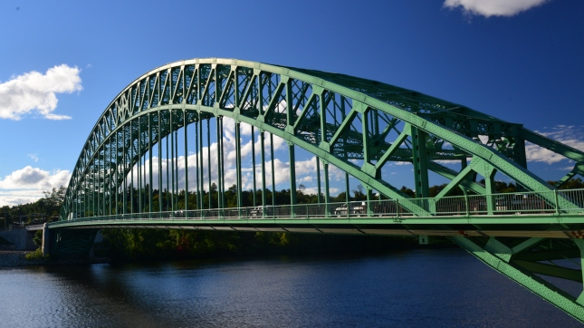 Tyngsboro Bridge over the Merrimac River, Nashua, New Hampshire