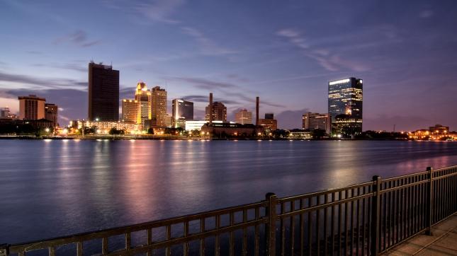 Toledo, Ohio evening