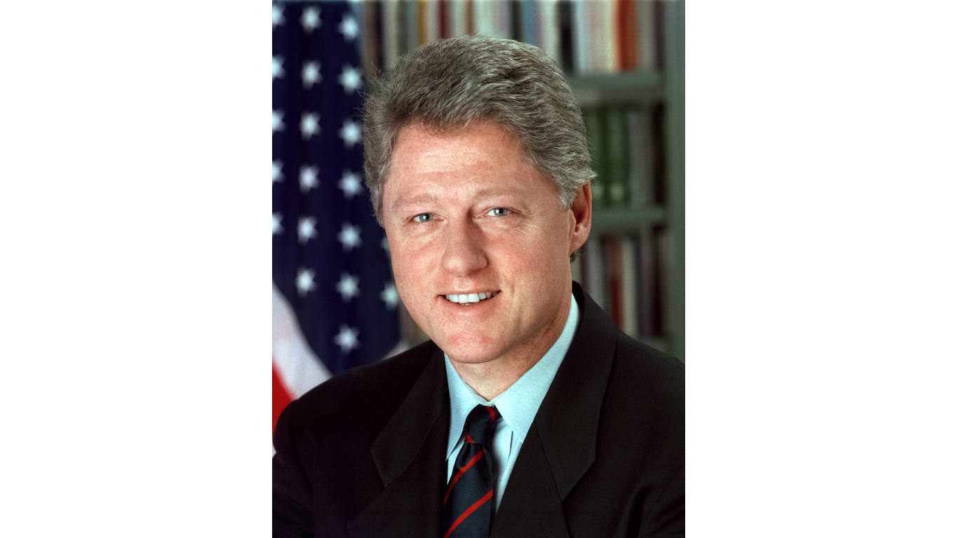 The 10 richest us presidents 24 7 wall st - Bill clinton years in office ...