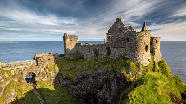 Ruins of Dunluce Castle, Northern Ireland, Co. Antrim