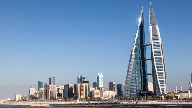 Skyline of Manama, Bahrain