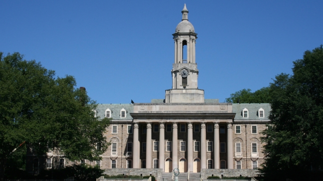 Penn State University, Old Main, State College, Pennsylvania