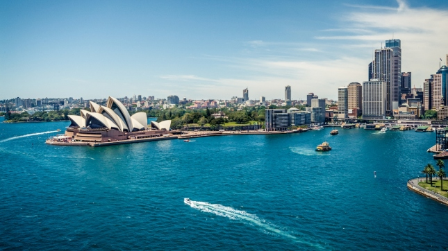 View of Sydney Harbour, Australia