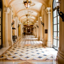 marble corridor