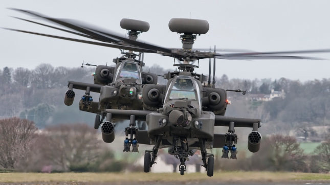 Apache Helicopters
