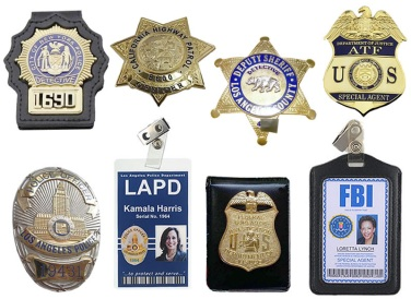 Fake Law Enforcement Badges Still Available at eBay | 24/7