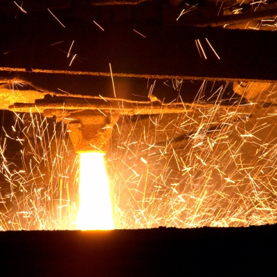 molten steel
