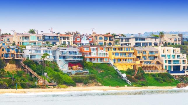 Corona Del Mar, Newport Beach, California USA
