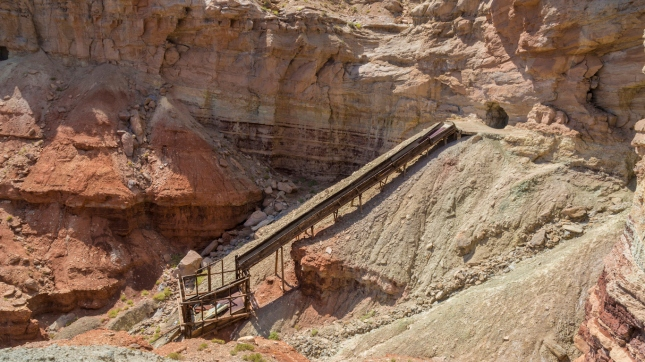 Abandoned Dirty Devil Uranium Mine in Emery County, Utah