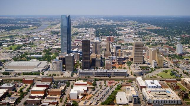 Oklahoma City, Oklahoma Aerial View