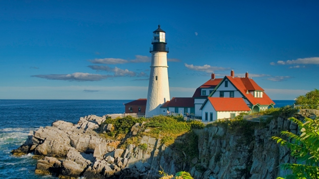 One of the most iconic lighthouses in the USA. Portland, Maine.