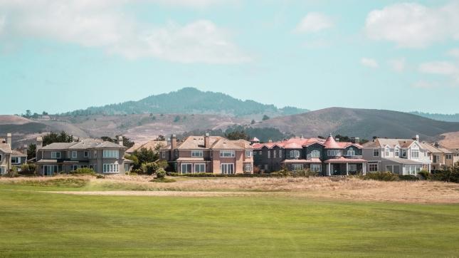 Houses near Half Moon Bay, San Mateo County, California