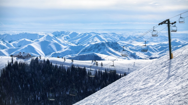 Chairlift - Sun Valley, Blaine County, Idaho
