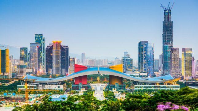 Shenzhen, China Skyline