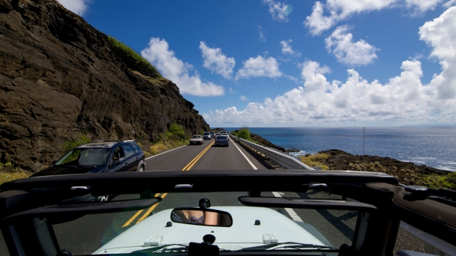 Panorama Highway, Big Island, Hawaii