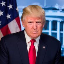 Trump official portrait
