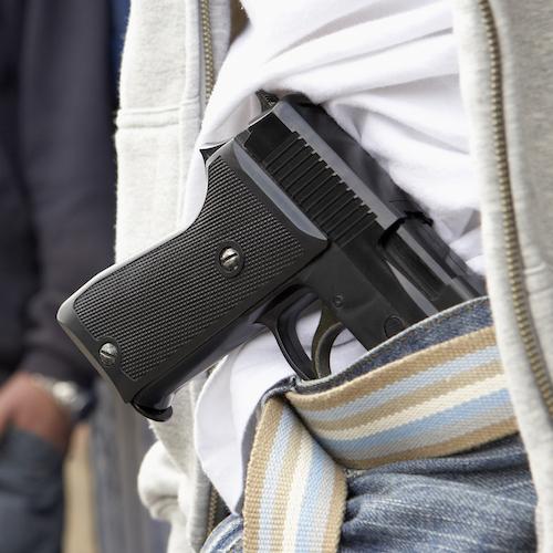 gun pistol violence crime