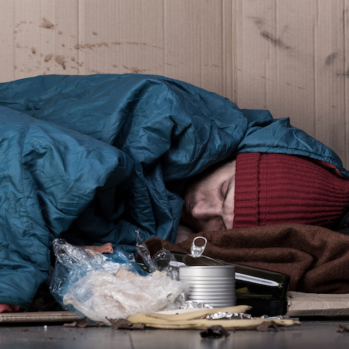 States With The Most Unsheltered Homeless People