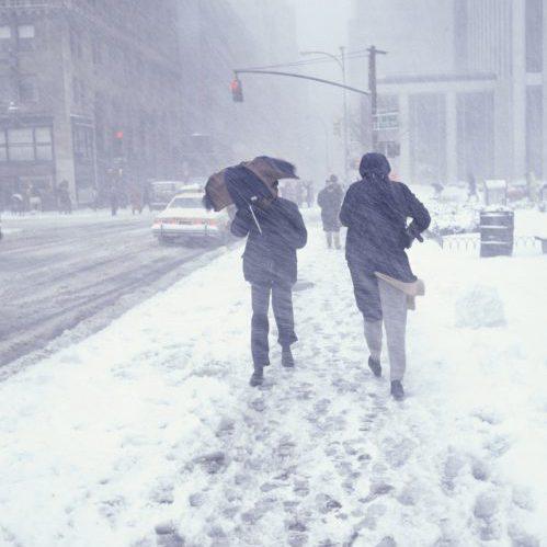 Snowstorm NYC
