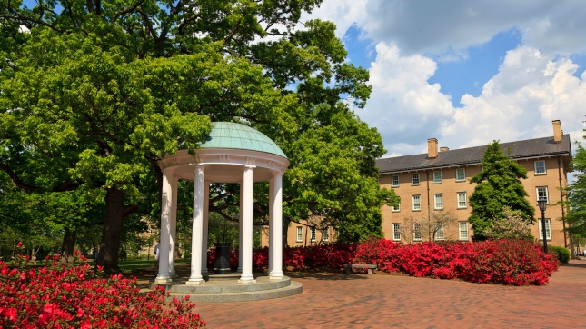 Old Well at UNC-CH in the Springtime, Chapel Hill, North Carolina