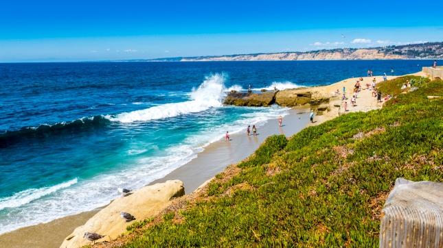 La Jolla Wave Crash, San Diego, California