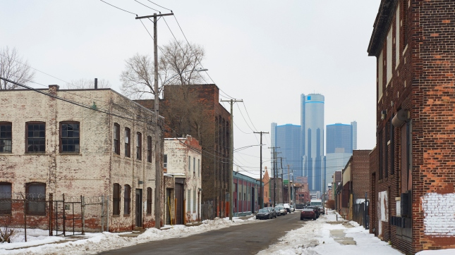 Cities Hit Hardest by Extreme Poverty - 24/7 Wall St. Post Industrial Economy