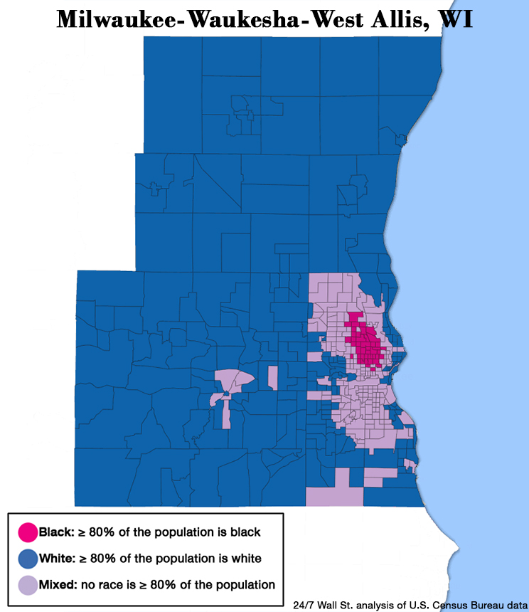 Image result for milwaukee's racial divisions
