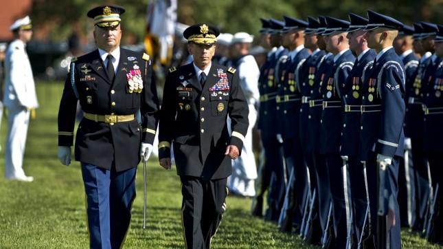Gen. David H. Petraeus retirem... by The U.S. Army