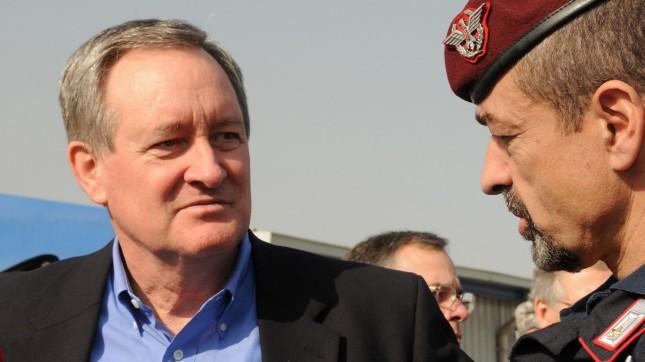 U.S. Senator Mike Crapo talks ... by NATO Training Mission-Afghanistan