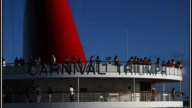 Carnival Triumph by lynn Dombrowski