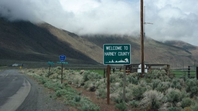 Welcome to Harney County, Oreg... by Ken Lund