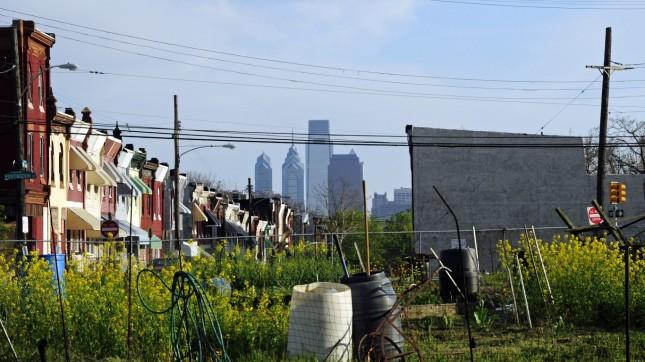 Philadelphia from Glenwood Gre... by Tony Fischer