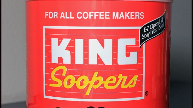 King Soopers Coffee by Jeffrey Beall