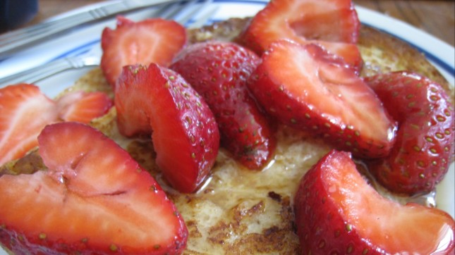 French Toast with Strawberries by Mack Male