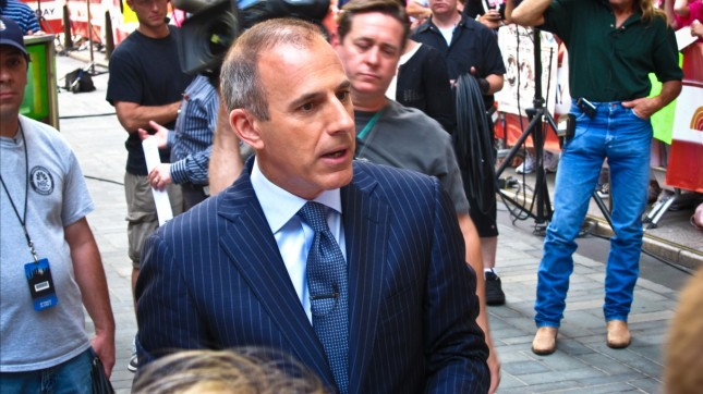 Matt Lauer by Nan Palmero